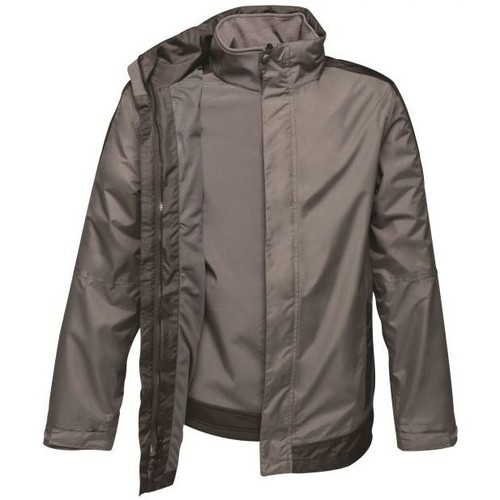 Clothing Men Jackets Professional CONTRAST 3in1 Waterproof Jacket Seal Grey Black Grey Grey