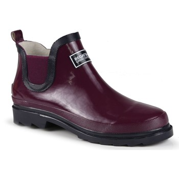 Shoes Women Wellington boots Regatta Harper Low Wellington Boots Purple Purple