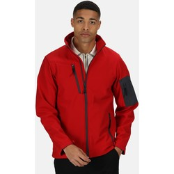 Clothing Men coats Professional Arcola 3 Layer Membrane Softshell Jacket Red Red