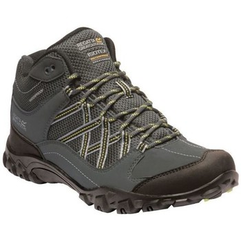Shoes Men Walking shoes Regatta Edgepoint Mid Waterproof Walking Boots Grey Grey