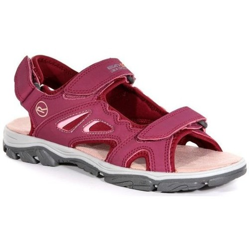 Shoes Women Sandals Regatta LADY HOLCOMBE Vented Sandals Red