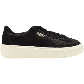 Shoes Women Low top trainers Puma Platform Euphoria WN S BL Black