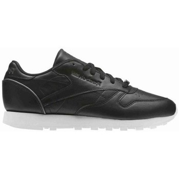 Shoes Women Low top trainers Reebok Sport CL Lthr White, Black