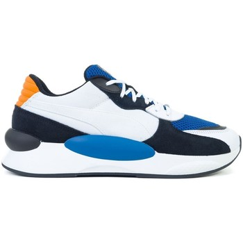Shoes Men Derby Shoes & Brogues Puma RS 98 Cosmic White, Black, Blue