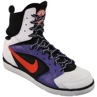 Shoes Women Indoor sports trainers Nike Huarache Dance Mid White, Black, Violet