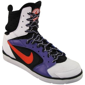 Shoes Women Indoor sports trainers Nike Huarache Dance Mid White,Black,Violet