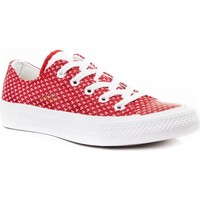 Shoes Women Derby Shoes & Brogues Converse Chuck Taylor All Star II Red