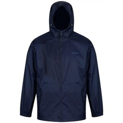 Clothing Men Jackets Regatta PACK-IT III Waterproof Shell Jacket Blue