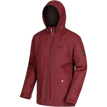 Clothing Men Fleeces Regatta Hebson Waterproof Insulated Jacket Red Red