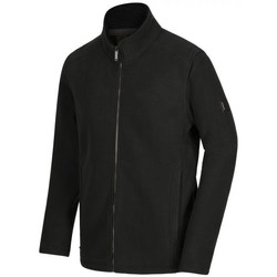 Clothing Men Fleeces Regatta Garrian Full Zip Heavyweight Fleece Seal Grey Black Black Black