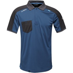 Clothing Men Short-sleeved polo shirts Professional OFFENSIVE Wicking TShirt Blue