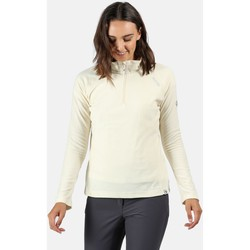 Clothing Women Fleeces Regatta Women's Montes Lightweight Half-Zip Fleece White White