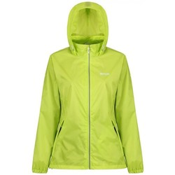 Clothing Women Jackets Regatta Corinne IV Lightweight Waterproof Walking Jacket Green Green