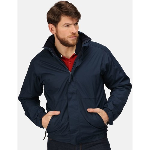 Clothing Men Jackets Professional DOVER Waterproof Insulated Jacket Navy Blue Blue