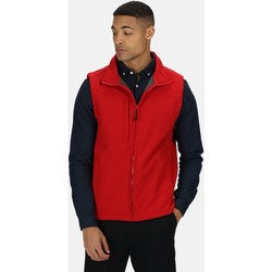 Clothing Men Coats Professional FLUX Soft-Shell Bodywarmer Black Red Red
