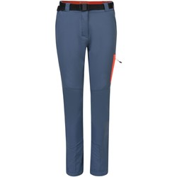 Clothing Women Trousers Dare 2b Women's Revify Lightweight Multi Pocket Walking Trousers Grey