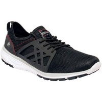 Shoes Men Fitness / Training Regatta Marine Sport II Lightweight Trainers Black Black