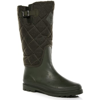 Shoes Women Snow boots Regatta LADY FLEETWOOD Wellingtons Green