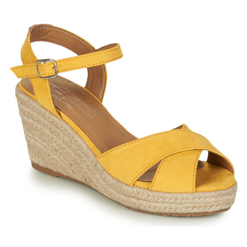 Shoes Women Sandals Tom Tailor  Yellow