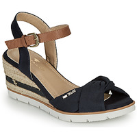Shoes Women Sandals Tom Tailor  Marine
