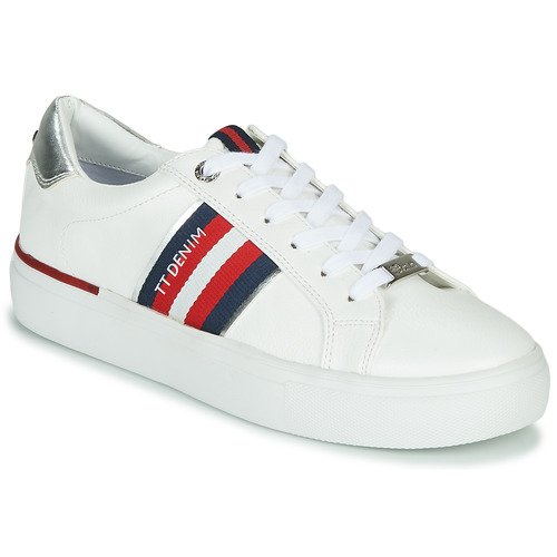 Shoes Women Low top trainers Tom Tailor 8096801 White