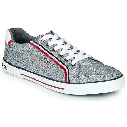 Shoes Men Low top trainers Tom Tailor 8080810 Grey