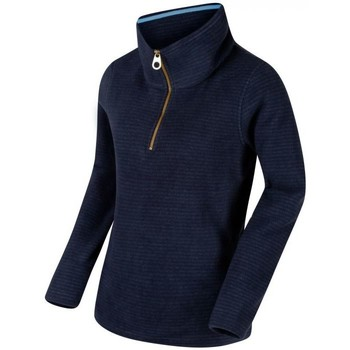 Clothing Women Fleeces Regatta Solenne Half Zip Stripe Fleece Blue Blue
