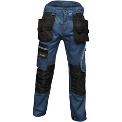 Clothing Men Cargo trousers Professional Execute Multiple Pocket Holster Work Trousers Blue