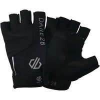 Clothes accessories Men Gloves Dare2b Forcible Fingerless Cycling Gloves Black Black
