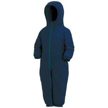Clothing Children Tracksuits Regatta Splosh III Breathable Waterproof Puddle Suit Blue Blue