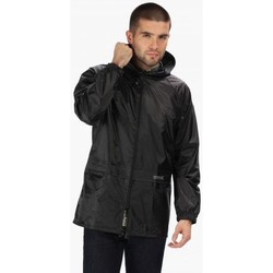 Clothing Men Coats Regatta STORMBREAK Waterproof Shell Jacket Black