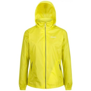 Clothing Women Coats Regatta Corinne IV Lightweight Waterproof Walking Jacket Yellow Yellow