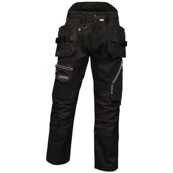 Clothing Men Trousers Professional Execute Multiple Pocket Holster Work Trousers Black