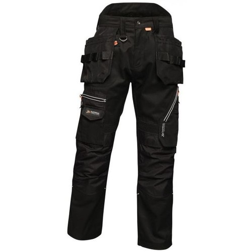 Clothing Men Trousers Professional Execute Multiple Pocket Holster Work Trousers Blue Wing Black Black
