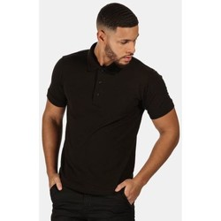 Clothing Men Short-sleeved polo shirts Professional CLASSIC PolyCotton Polo TShirt Black