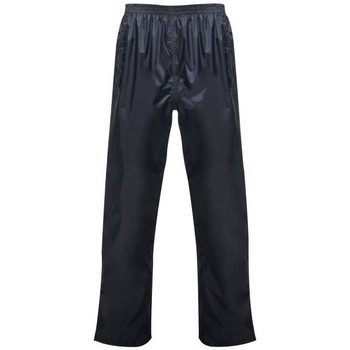Clothing Trousers Professional Pro Pack Away Over Trousers Blue Blue