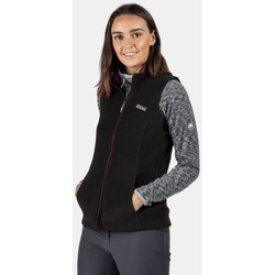 Clothing Women Coats Regatta SWEETNESS II Bodywarmer Bright Blush Black Black