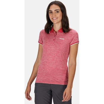 Clothing Women T-shirts & Polo shirts Regatta Remex II Polo Neck T-Shirt Pink Pink