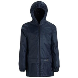 Clothing Children Coats Regatta Stormbreak Waterproof Shell Walking Jacket Blue Blue