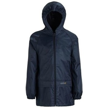 Clothing Children coats Regatta Stormbreak Waterproof Shell Jacket Blue Blue