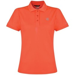 Clothing Women T-shirts & Polo shirts Dare 2b SET FORTH Technical Polo TShirt Orange