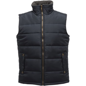 Clothing Men Jackets / Cardigans Professional Altoona Quilted Gilet Navy Navy