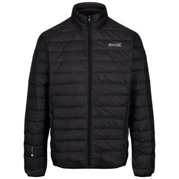 Clothing Men Duffel coats Regatta Men's Whitehill Lightweight Down Fill Quilted Walking Jacket Black