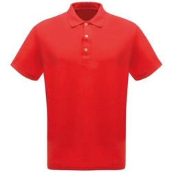 Clothing Men T-shirts & Polo shirts Professional CLASSIC PolyCotton Polo TShirt Seal Grey Red Red