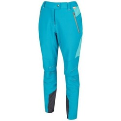 Clothing Women Trousers Regatta Mountain Stretch Walking Trousers Blue Blue