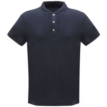 Clothing Men T-shirts & Polo shirts Professional CLASSIC PolyCotton Polo TShirt Seal Grey Blue Blue
