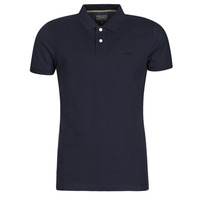 Clothing Men short-sleeved polo shirts Esprit OCS PIQUE POLO SS Marine