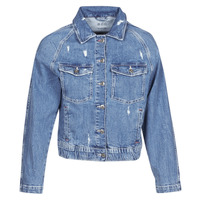 Clothing Women Denim jackets Esprit  Blue / Medium