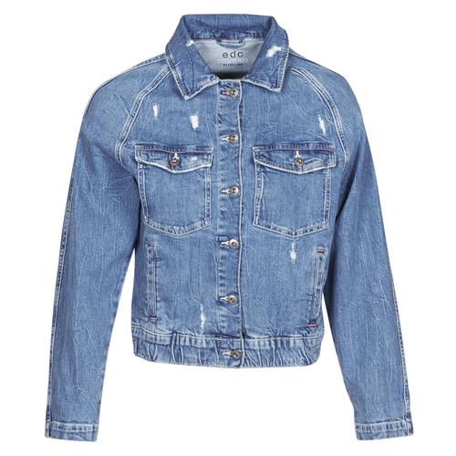 Clothing Women Denim jackets Esprit  Blue / Medium
