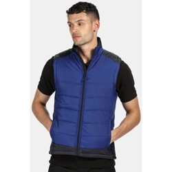 Clothing Men Coats Professional CONTRAST Insulated Bodywarmer Blue